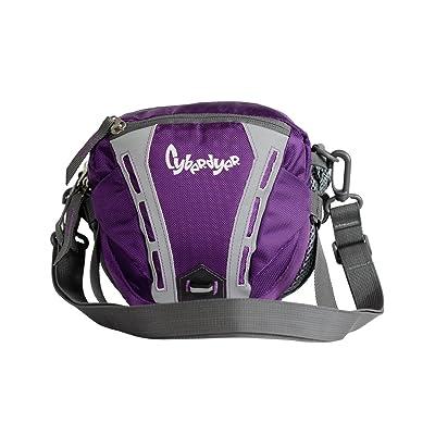 Genda 2Archer Nylon Leisure Casual Fanny Pack Waist Bag for Outdoor Sport