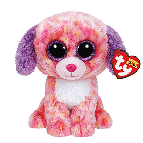 ab00da6966f Image Unavailable. Image not available for. Color  Ty Beanie Boos Medium  London the Dog Plush Toy