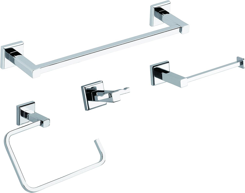 Accessori bagno porta rotolo colorado cromo in acciaio e cromall di gedy