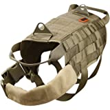 OneTigris Tactical Dog Training Molle Vest Harness