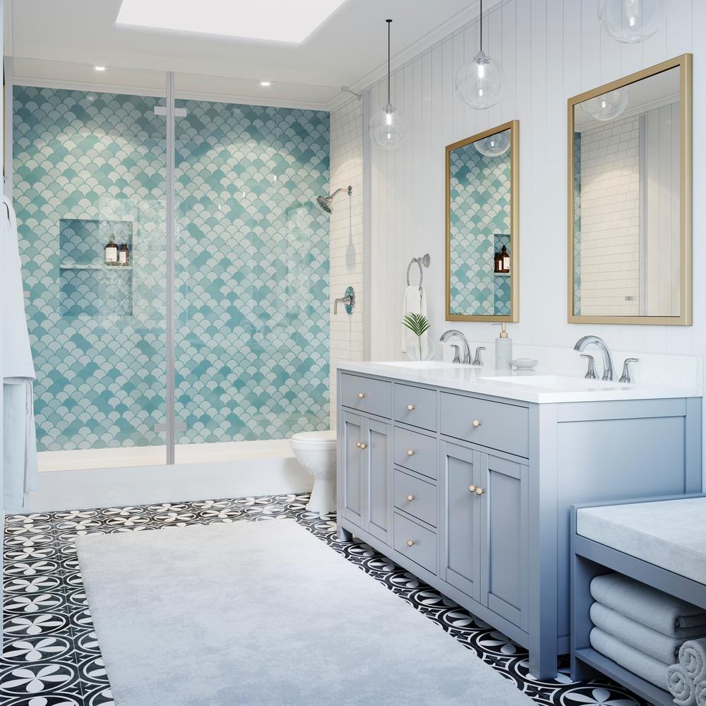 Amazon.com: Pfister Ladera Single-Handle 3-Spray Tub and Shower ...
