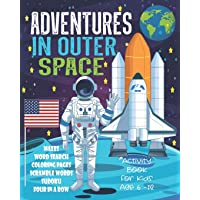 Adventures In Outer Space Activity Book For Kids