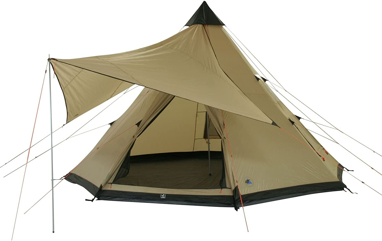 10T Tipi Tent Shoshone met ø 4 of ø 5 m naar keuze, 8 10 man