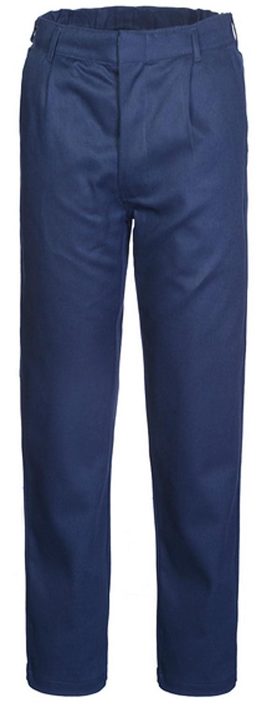 Termoplus +   light Pantalone Uomo da Lavoro Classico in Cotone Invernale  Blu 1 Pinces A001B2  Amazon.it  Abbigliamento dbd78cba7ea