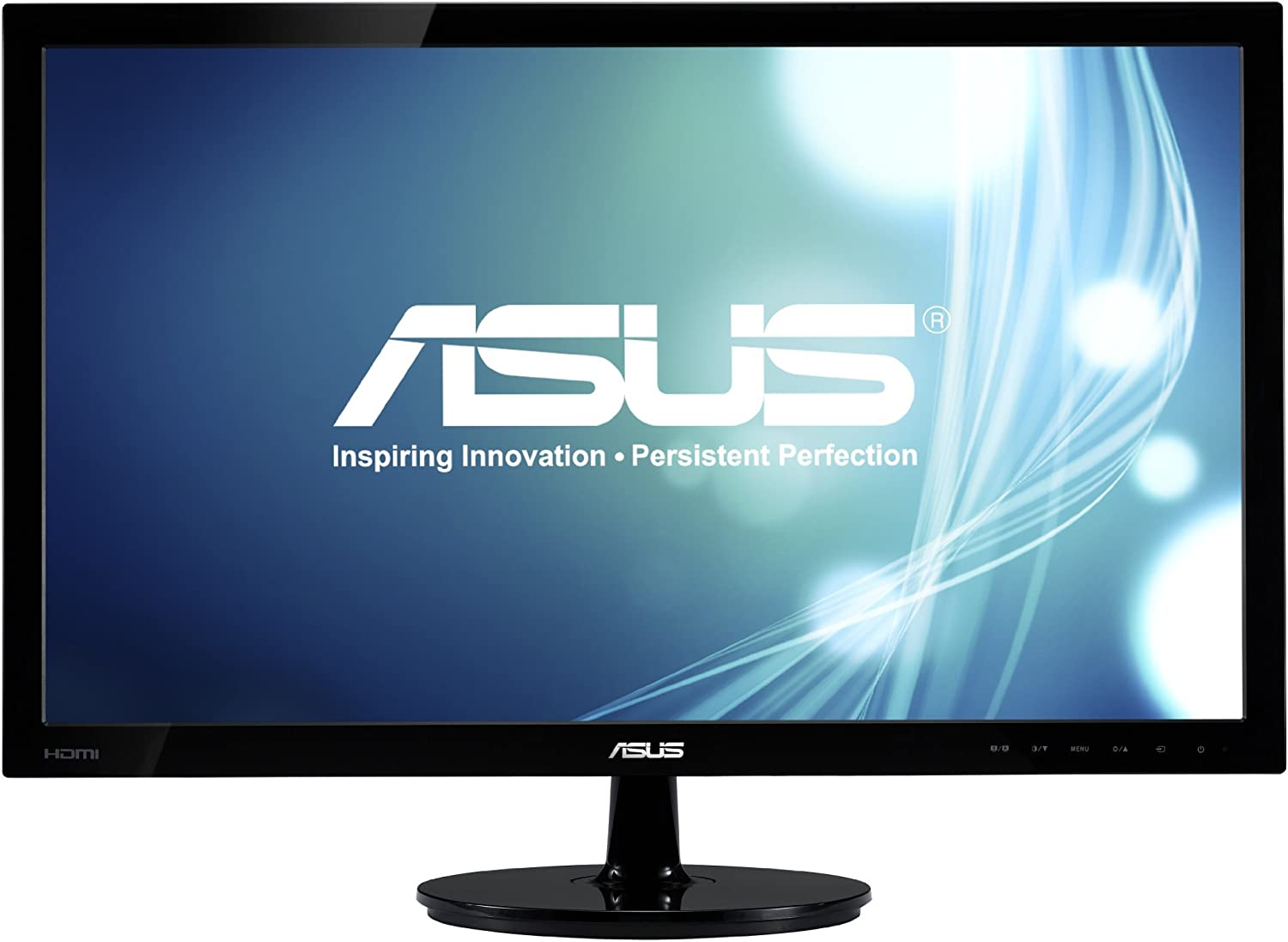 ASUS VS228H-P 21.5' Full HD 1920x1080 HDMI DVI VGA Back-lit LED Monitor (Renewed)