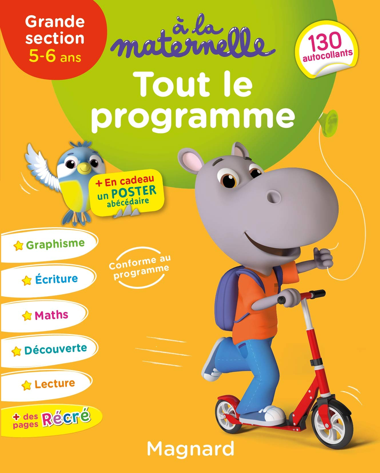 Tout le programme GS 5-6 ans à la maternelle: 9782210761827 ...
