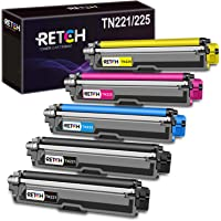RETCH Compatible Toner Cartridge Replacement for Brother TN221 TN225 TN-221 TN-225, Used with MFC-9130CW HL-3170CDW HL…