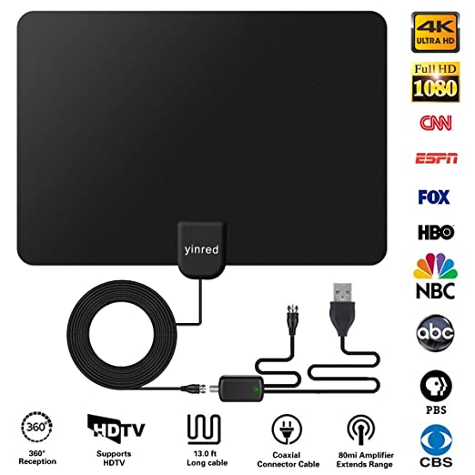 Review HDTV Antenna, Indoor HD