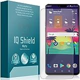IQShield Bubble-free Shield Matte Full Coverage Anti-Glare Screen Protector for OnePlus 6