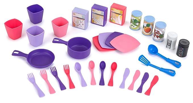 little tikes Cook n Store Cocina (Rosa): Amazon.es: Juguetes y juegos