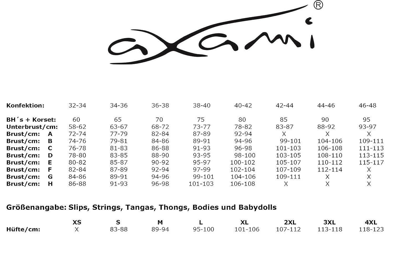 Axami Damen Peek a Boo-BH-Latex B07L32MXNC Klassische BHs Prägnante Prägnante Prägnante Einfachheit cc31f4