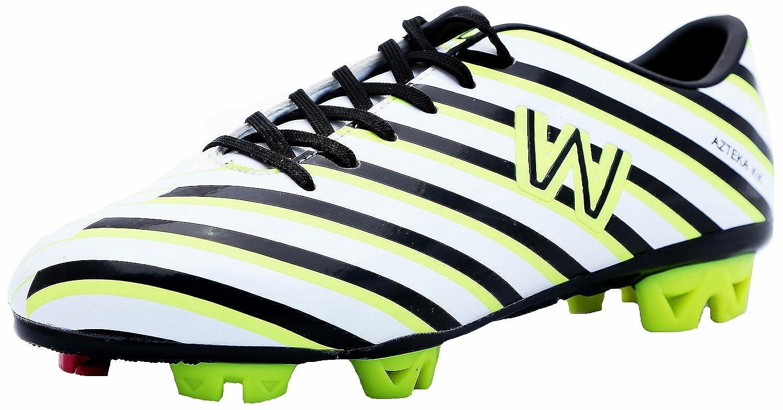 walstarメンズサッカー靴Azteka Kikホワイト B00EIW3ZXU 8.5 D(M) US