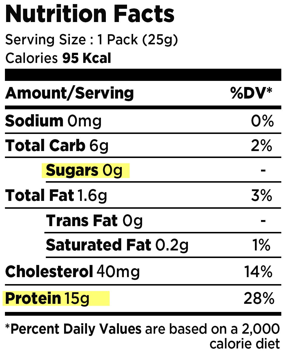 Dano Black Sesame Protein Powder, Single Serve Pouch, No Bottle Needed, Sugar-free, Fat-free, Sodium-free, Meal Replacement, 1 Ounce Pack Pack of 30