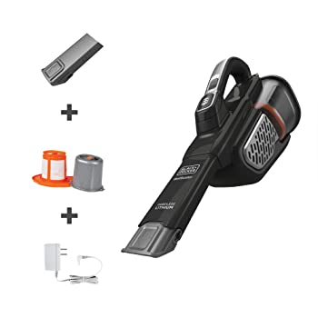 Black + Decker dust buster