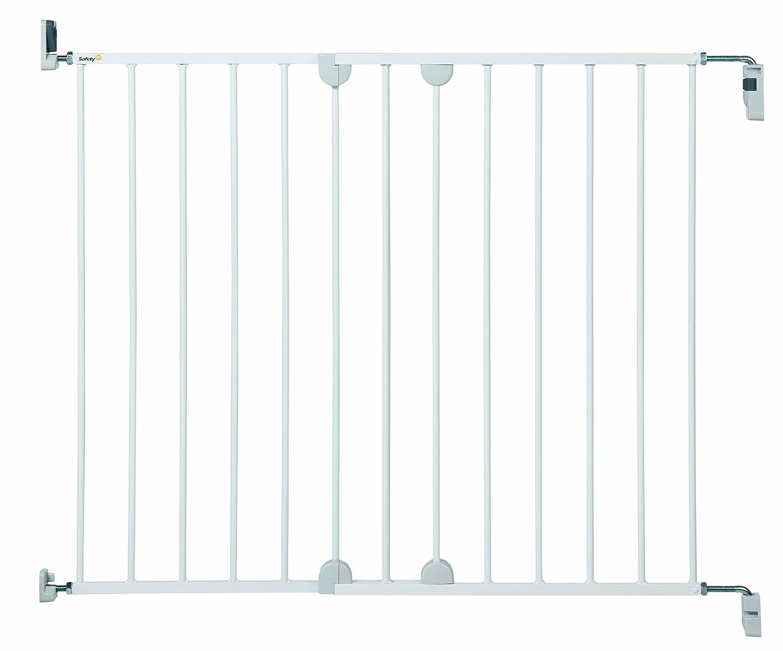 Safety 1st 24384312 Sicherheitsgitter zum ausziehen, einfach an der Wand zu befestigen, weiß weiß