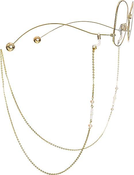 Fashion Eyeglass Chain Cord Beaded Lanyard Neck Holder