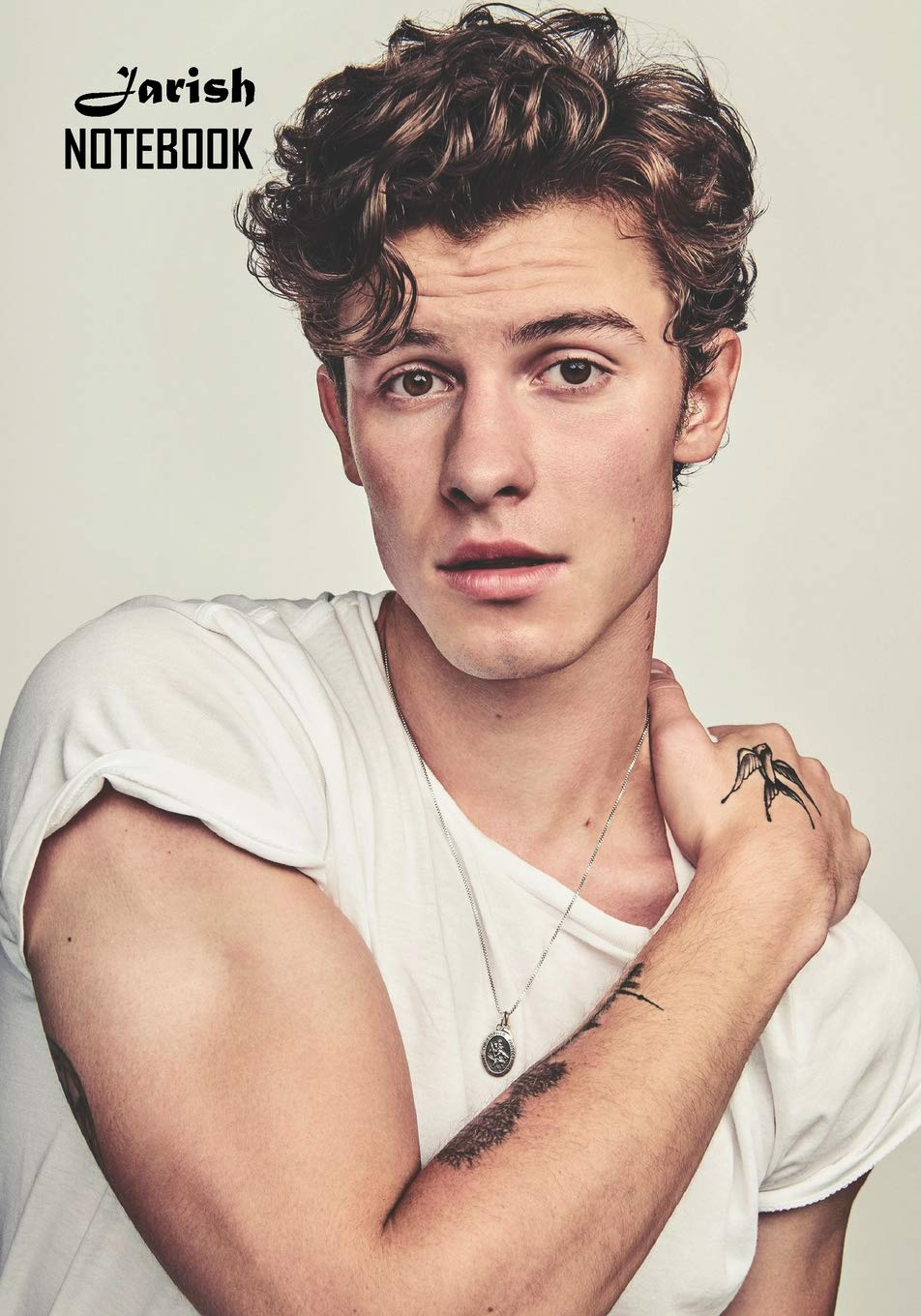 Notebook  Shawn Mendes Medium College Ruled Notebook 129 Pages Lined 7 X 10 In  17.78 X 25.4 Cm