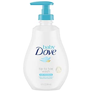 Baby DoveRich Moisture Tip to Toe Wash and Shampoo 13 oz