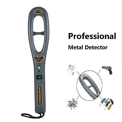 Teepao Professional Heavy Duty Metal Detector Hand Held Metal Detecting Probe Scanner Portable Treasure Finder Hunter