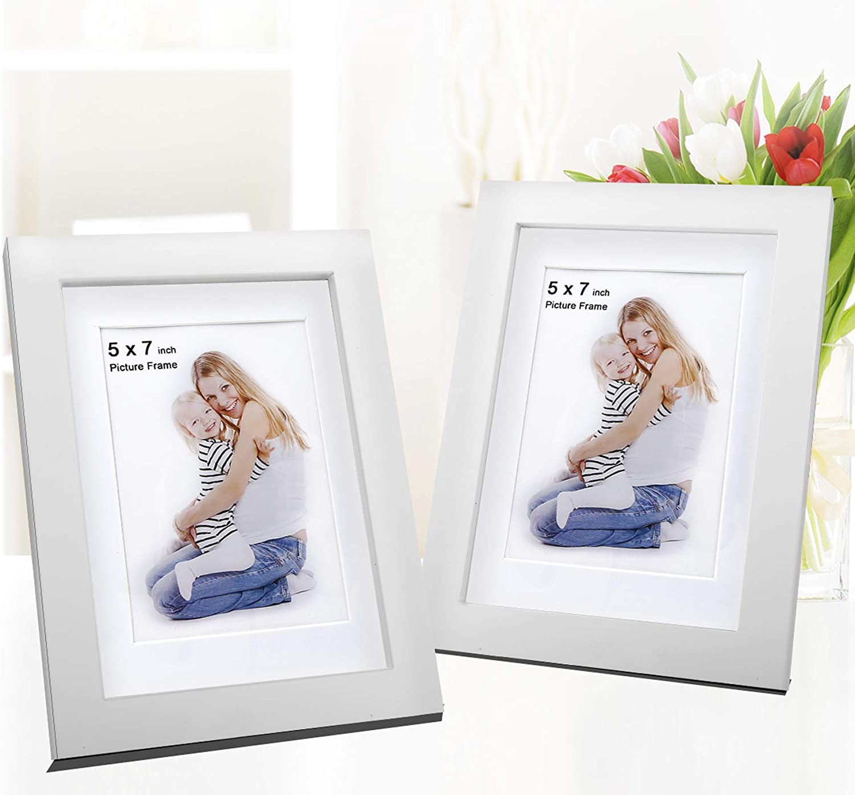 "White Photo Picture 19mm Frame 5x5/"" 5x6/"" 5x7 5x8 5x9 5x10/"" 5x11/""-20/"" Mount Glass"