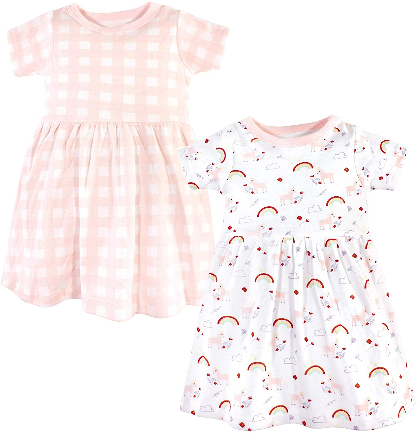 Luvable Friends Unisex-Baby Girls Cotton Dress