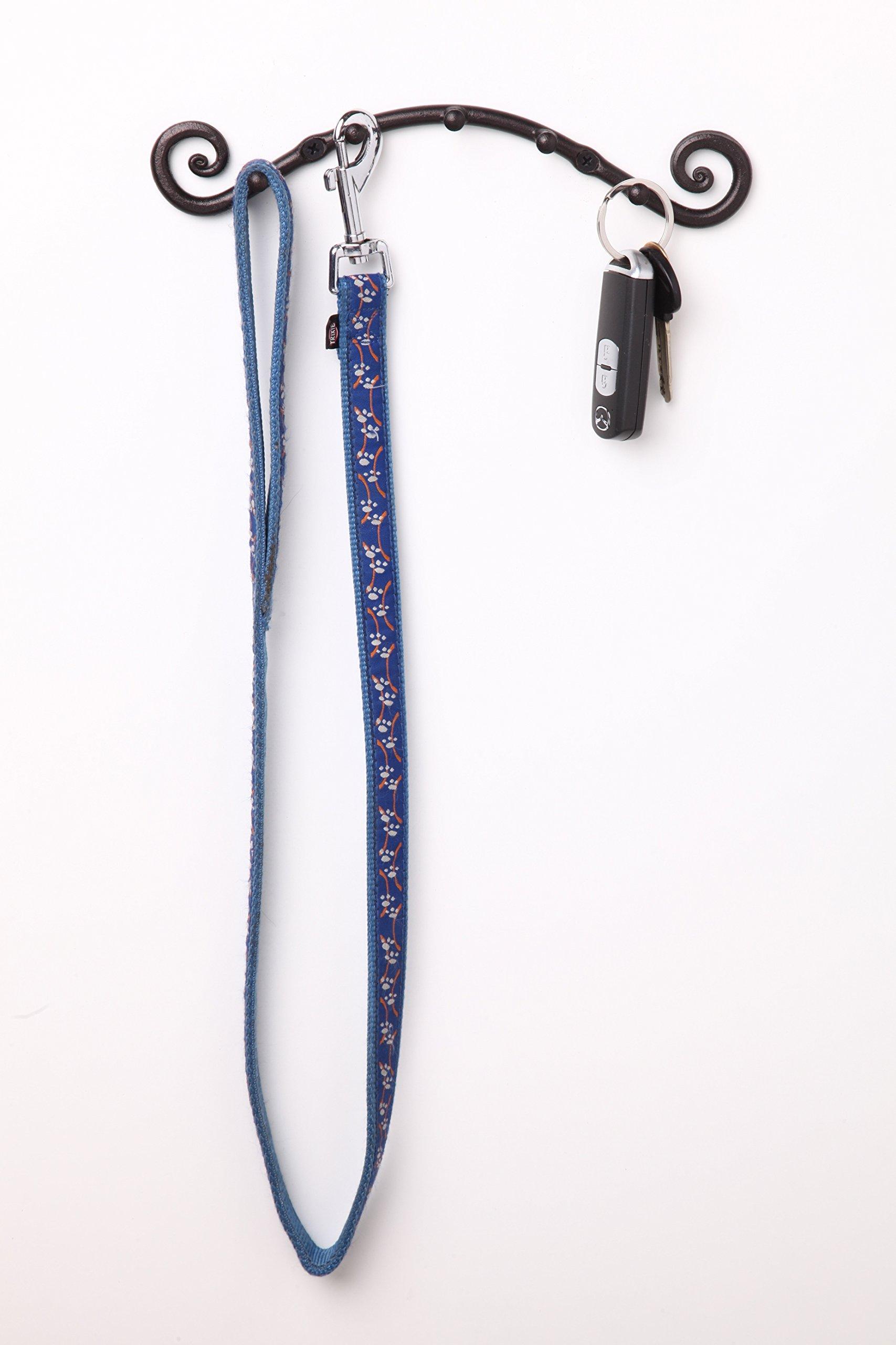5 Hook Key Holder | Wall Mounted Hanger | Wrought Iron Key Rack Handmade by RTZEN-Décor by RTZEN (Image #3)