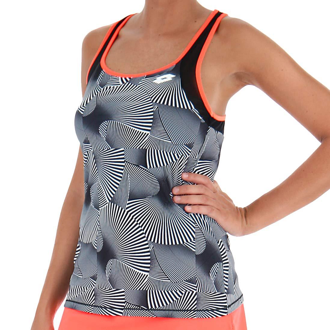 Lotto Camiseta Tirantes pádel Tennis Tech Tank Print. 210384 ...