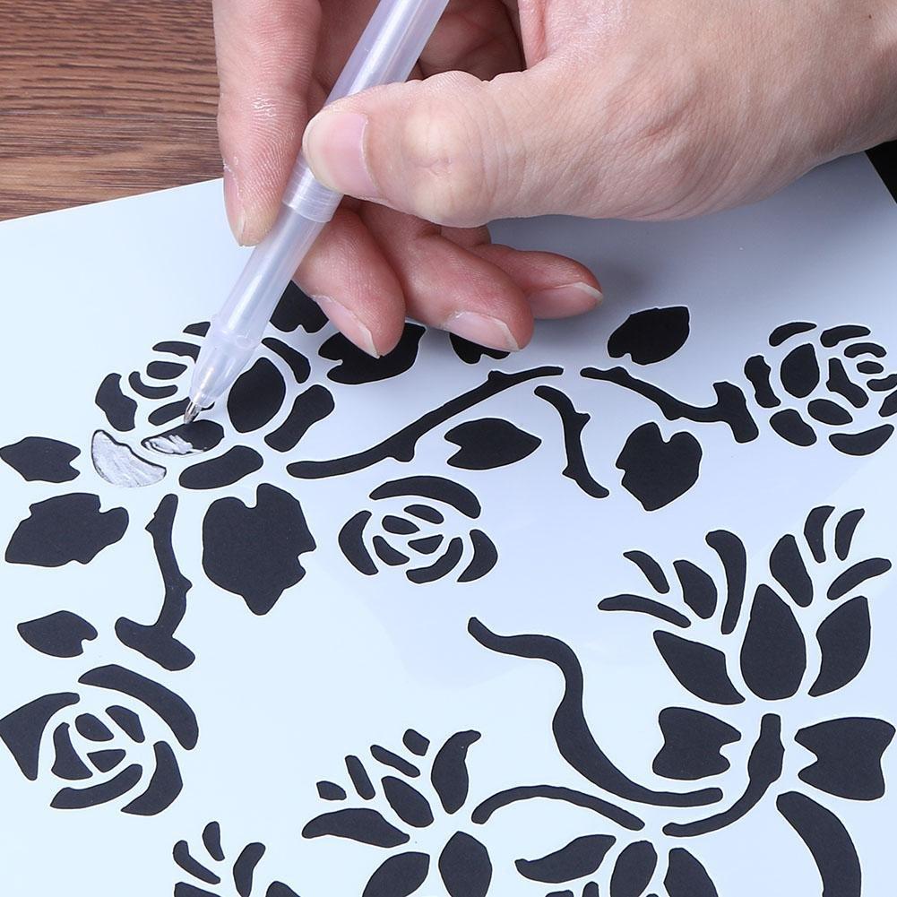Matefield - Stencil da cucina con motivo a fiori per teglia da forno ...