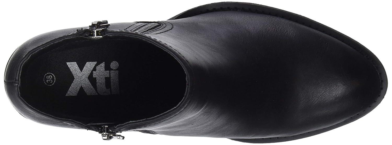 XTI Damen Damen XTI 48277 Kurzschaft Stiefel Schwarz (Negro Negro) 762c11