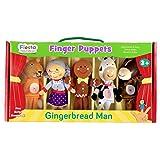 Gingerbread Man Finger Puppet Set
