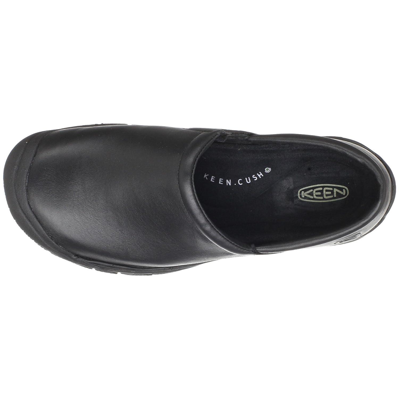 keen utility men s ptc slip on work shoe shoes