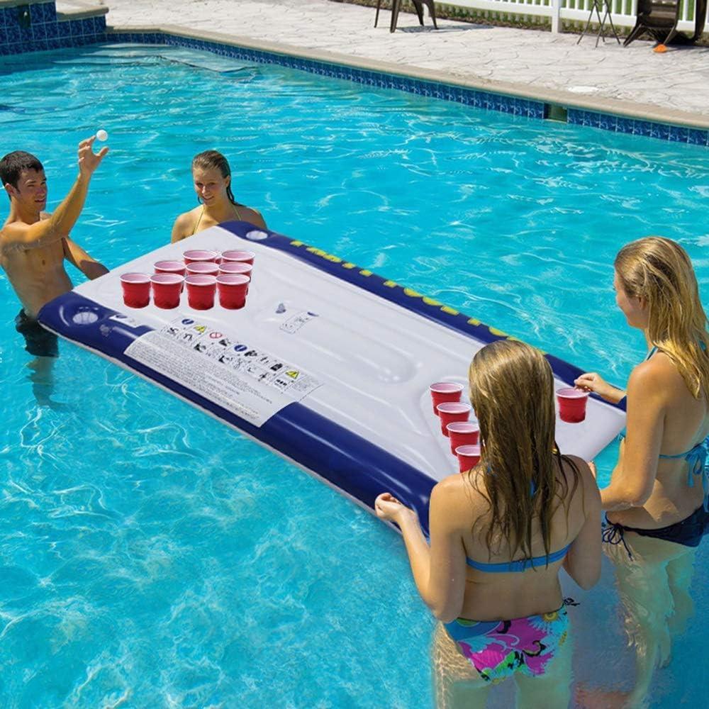 Nadar Juguetes para Fiestas Balsa Inflable Mesa de Ping Pong Jugar ...