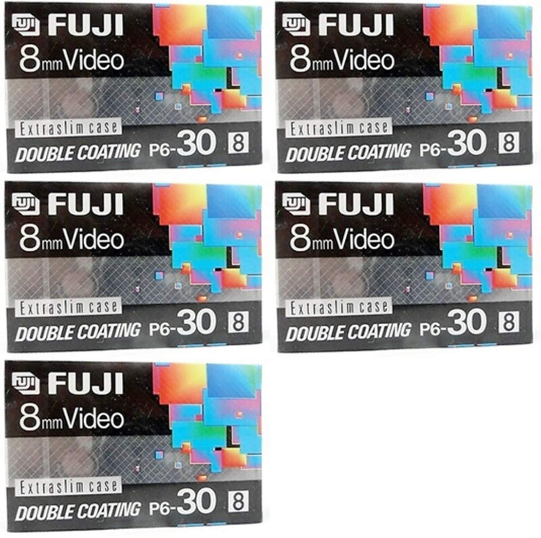 Fuji 8mm Video P6-120 - 5 Pack by Fuji'