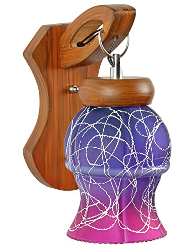 Gojeeva GOJ6PURPLE2 40-Watt Decorative Sconce Wall Lamp (Purple) Wall Lights at amazon