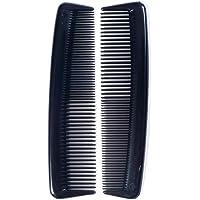Body Tools Pocket Comb 2 Pieces, Black