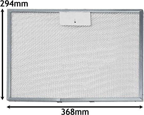 Spares2go Filtro de grasa para campana extractora de horno IKEA (294 x 368 mm): Amazon.es: Hogar