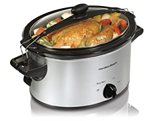 Hamilton Beach 33249 Slow Cooker, 4 Quart, Model, Black