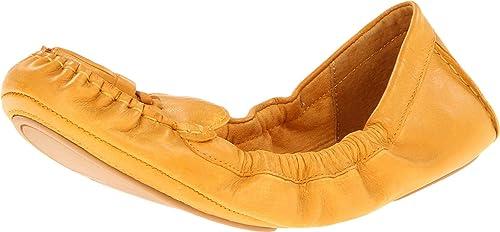 Nine West Trenti Mujer Amarillo Piel Mocasines Zapatos Talla EU 37: Amazon.es: Zapatos y complementos