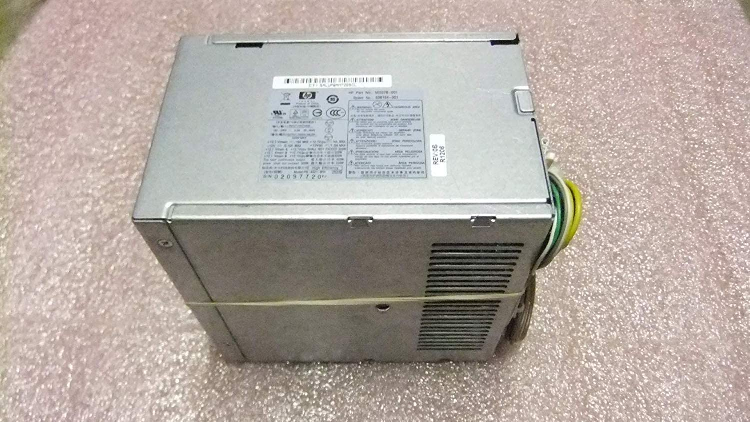 HP Compaq 320 Watt Power Supply 6005 Pro MicroTower 503378-001 508154-001