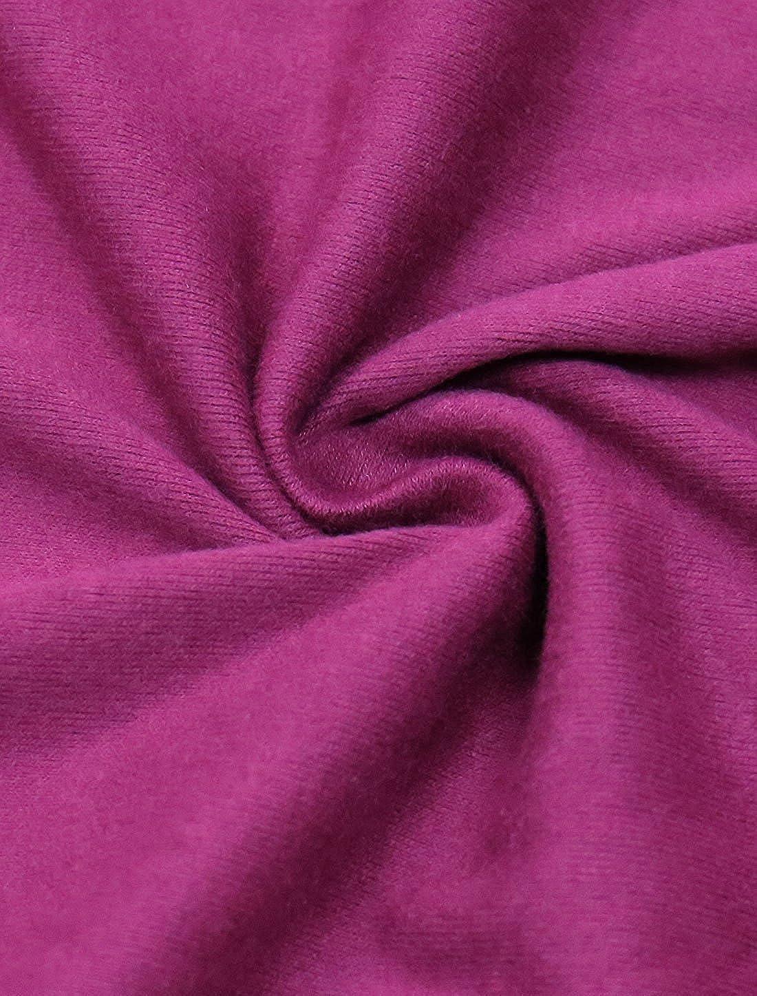 FashionRun Womens Scoop Neck Color Block Batwing Oversize Tunic Top