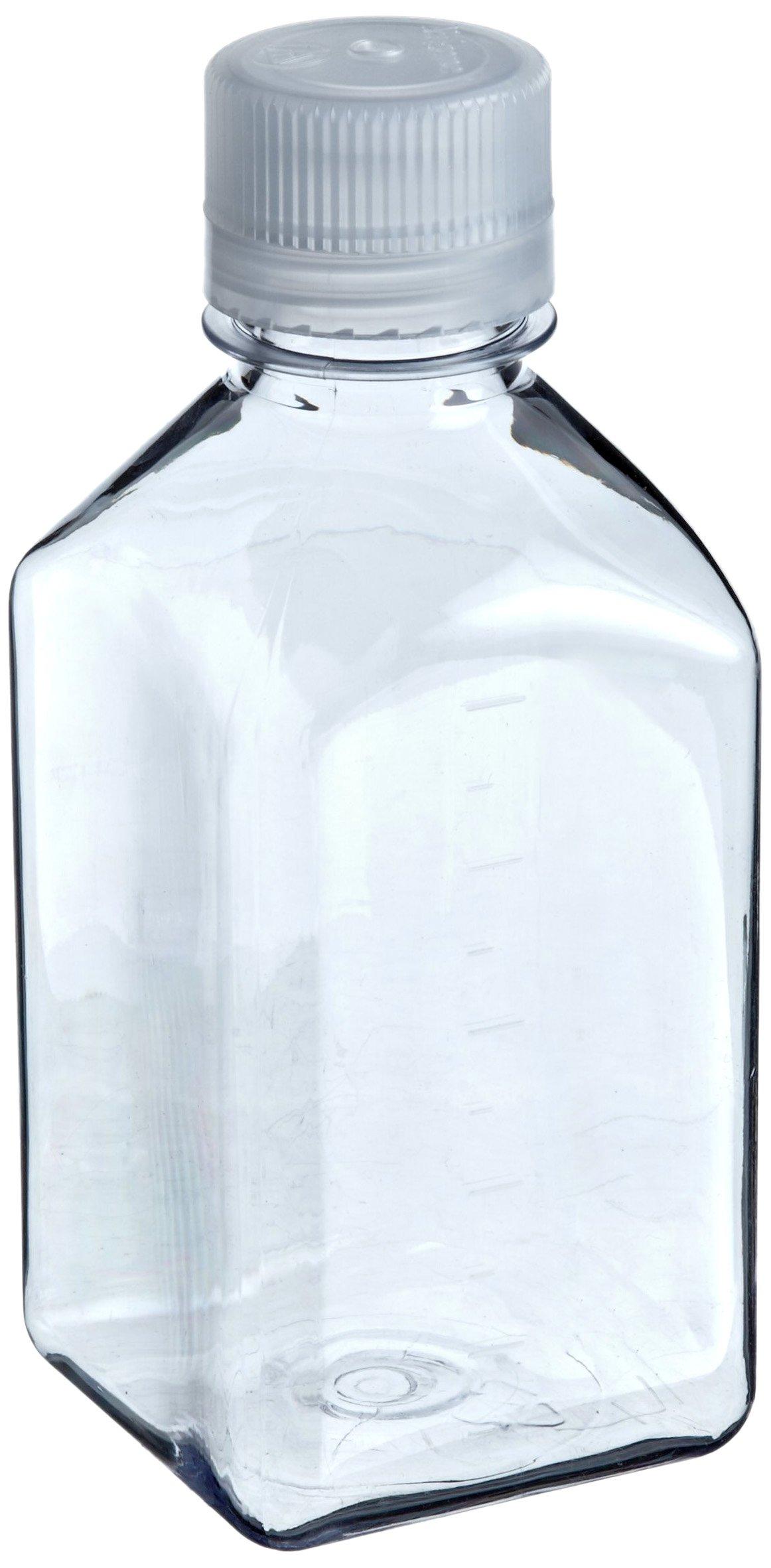 Nalgene 2015-2000 Square Bottle, Polycarbonate, 2000mL