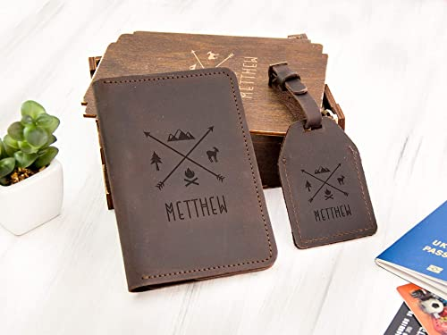 Luggage Tag Travel Wallet Personalized Travel Set