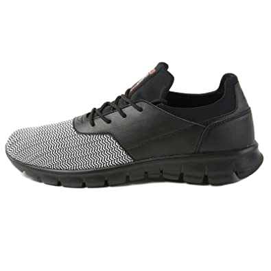 Amazon.com | alpine swiss Leo Men Sneakers Flex Knit Tennis Shoes Casual Athletic Lightweight | Shoes