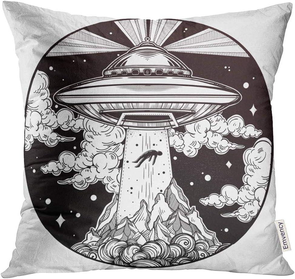 Funda de almohada extraterrestre Nave espacial extraterrestre OVNI ...
