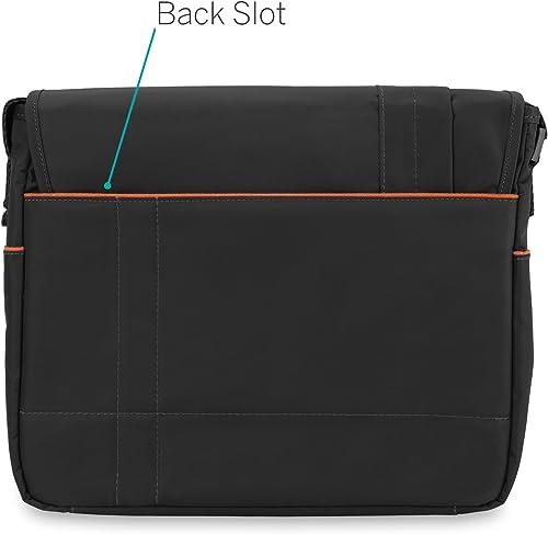 CaseCrown Horizontal Mobile Messenger Bag Black