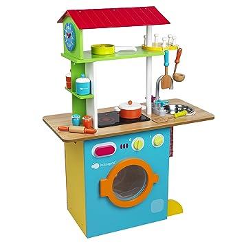 Itsimagical 87683 Fresh Farm Dual Kitchen Holzkuche Fur Kinder
