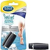 Scholl - Recharges de rouleaux Râpe à pieds Velvet Smooth aux Cristaux de Diamants - 1 x Grain Extra Exfoliant + 1 x Sensation douceur