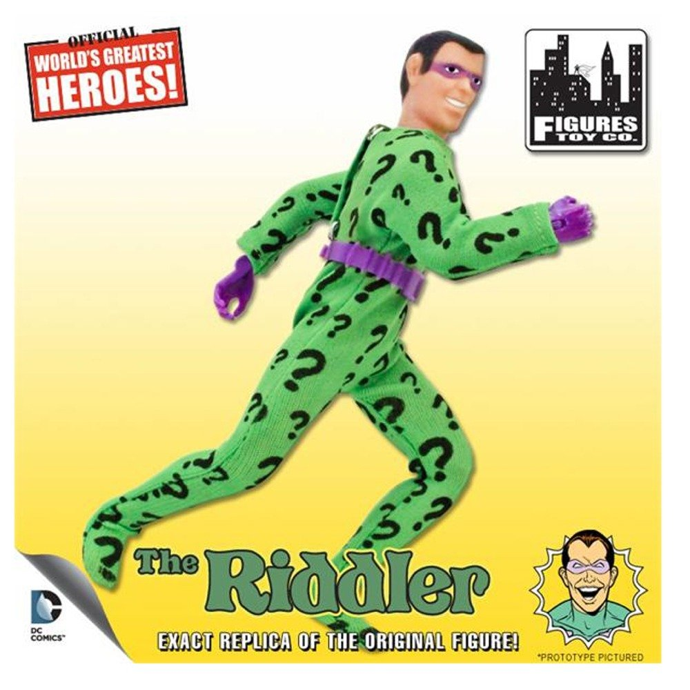 Riddler Retro MEGO Replica DC Comics Series 1 Action Figure