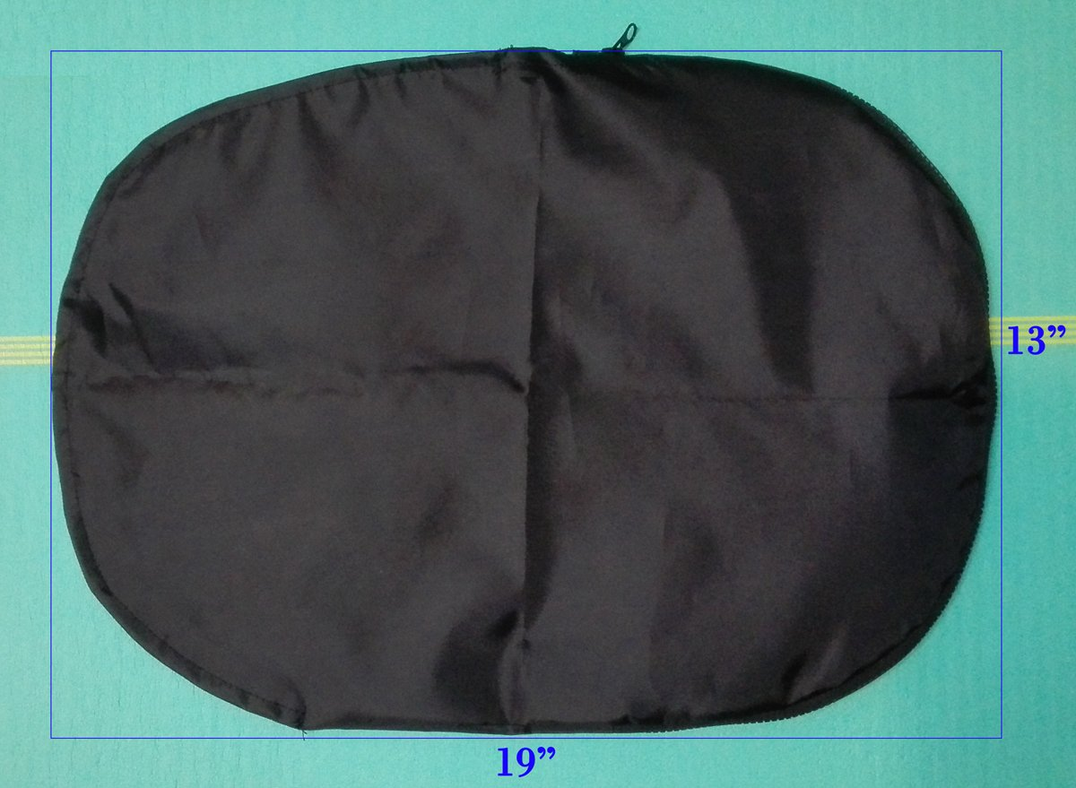 Phoropter Cover, Refractor Covers, fits Reichert/Topcon Phoropter Quality Vinyl W/Zipper