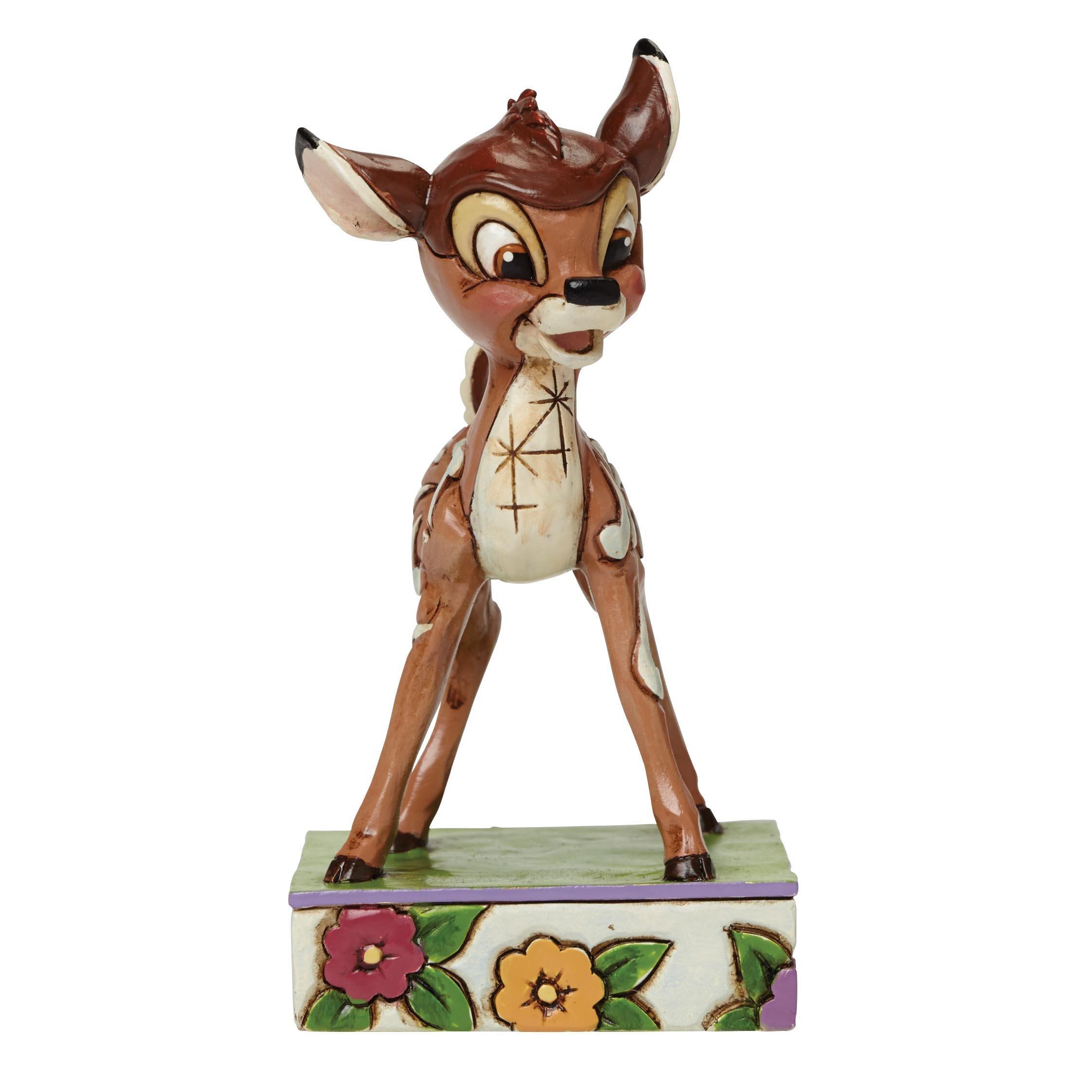 "Jim Shore for Enesco Disney Traditions Bambi Figurine, 3.75"""